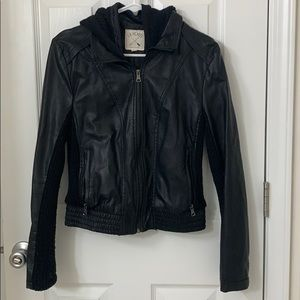 LA Hearts faux leather jacket